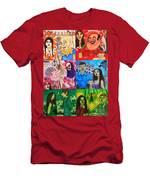 Palm Sunday Vignetes Men's T-Shirt (Athletic Fit)