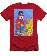 Parrot In Gear Tree Men's T-Shirt (Athletic Fit)