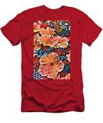 Peanies Flower Blossom Men's T-Shirt (Athletic Fit)