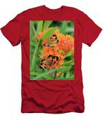 Pearly Crescentspot Men's T-Shirt (Athletic Fit)