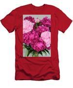 Peony Bouquet Men's T-Shirt (Athletic Fit)