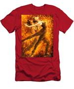 Perfection Of Practice - Palette Knife Oil Painting On Canvas By Leonid Afremov Men's T-Shirt (Athletic Fit)
