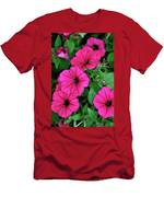 Petunias Men's T-Shirt (Athletic Fit)