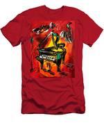 Piano Men's T-Shirt (Athletic Fit)