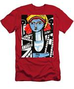 Picasso By Nora  Film Star Men's T-Shirt (Athletic Fit)