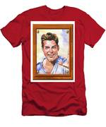 Portrait Of Ricky Martin Men's T-Shirt (Athletic Fit)