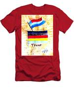Potus For All Black Brown, Red, Yellow, White Men's T-Shirt (Athletic Fit)
