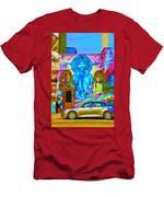 Psychdelic Rockers Men's T-Shirt (Athletic Fit)