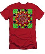 Psychedelic Construct Men's T-Shirt (Athletic Fit)