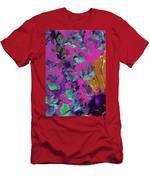 Razberry Ocean Of Butterflies Men's T-Shirt (Athletic Fit)