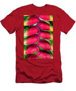 Parrot's Beak Heliconia Men's T-Shirt (Athletic Fit)