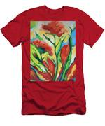 Red Delight Men's T-Shirt (Athletic Fit)