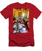Restaurant In Red Bank 2 Men's T-Shirt (Athletic Fit)