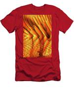 Ripples In Gold Men's T-Shirt (Athletic Fit)