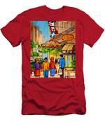 Ritz Carlton Montreal Sherbrooke Street Men's T-Shirt (Athletic Fit)