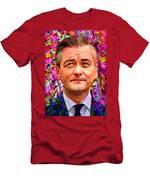 Robert Biedron Portrait 322a Men's T-Shirt (Athletic Fit)