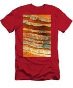 Rock Zebra Men's T-Shirt (Athletic Fit)