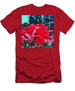 Roses At Mont Alto Men's T-Shirt (Athletic Fit)