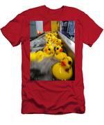 Rubber Duckies Men's T-Shirt (Athletic Fit)