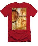 Rusty Gate Detail Men's T-Shirt (Athletic Fit)