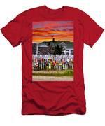 Sandy Neck Sunset Men's T-Shirt (Athletic Fit)