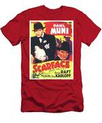 Scarface 1932 French Revival Unknown Date Men's T-Shirt (Athletic Fit)