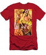 Sea Horses And Sea Shells Men's T-Shirt (Athletic Fit)