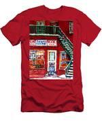 Segal's Market St.lawrence Boulevard Montreal Men's T-Shirt (Athletic Fit)