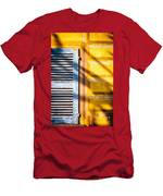 Shutter And Ornate Wall Men's T-Shirt (Athletic Fit)