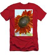 Sizzling Hot Sun Flower Men's T-Shirt (Athletic Fit)