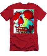 Skull Original Madart Painting Men's T-Shirt (Athletic Fit)