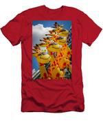 Sky Giraffes Men's T-Shirt (Athletic Fit)