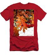 Snow On Scarlet Magick Men's T-Shirt (Athletic Fit)