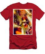 Spider And Spider Web Men's T-Shirt (Athletic Fit)