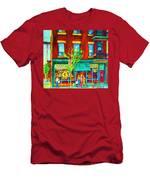 St Viateur Bagel Shop Men's T-Shirt (Athletic Fit)