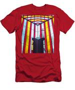 Stained Glass Reminder Men's T-Shirt (Athletic Fit)