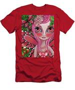 Strawberry Butterfly Fairy Men's T-Shirt (Athletic Fit)