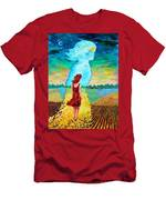 Summer Days On The Prairies Men's T-Shirt (Athletic Fit)