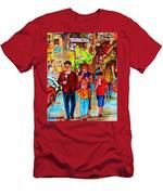 Summer In The City Men's T-Shirt (Athletic Fit)