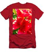 Sun Dappled Lily Men's T-Shirt (Athletic Fit)