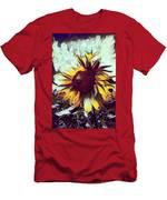 Sunflower In Deep Tones Men's T-Shirt (Athletic Fit)