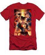 Super Heros  Men's T-Shirt (Athletic Fit)
