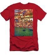 The Holy Ganges - Paint Men's T-Shirt (Athletic Fit)