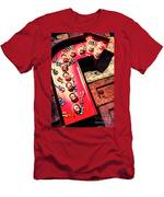 The Rock N Roll Concert Neon Men's T-Shirt (Athletic Fit)