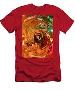 The Spirit Of Christmas - Abstract Art Men's T-Shirt (Athletic Fit)