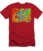 Tootsie Fruit Chews Men's T-Shirt (Athletic Fit)