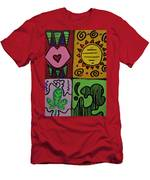 Trippy Vibes Men's T-Shirt (Athletic Fit)