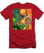 Tropical Fruit Men's T-Shirt (Athletic Fit)