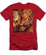 Turkey Tail Mushrooms  Men's T-Shirt (Athletic Fit)