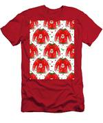 Ugly Christmas Sweater Pattern Men's T-Shirt (Athletic Fit)